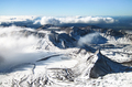 Mountain Scenery in Tongariro National Park, New Zealand - PhotoDune Item for Sale