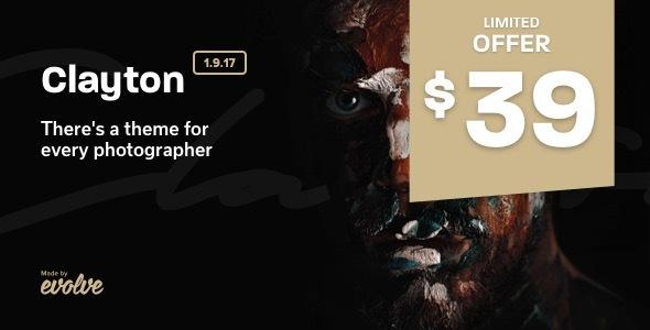 Clayton, an Elegant Theme for Photographers