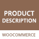 WooCommerce Product Description Plugin - Show on Shop Page - CodeCanyon Item for Sale