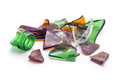 Broken old glass pieces - PhotoDune Item for Sale