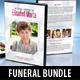 3 Funeral Ceremony DVD Covers Bundle - GraphicRiver Item for Sale