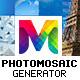 PhotoMosaic Generator - Photoshop Extension - GraphicRiver Item for Sale