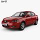 Mazda 3 sedan with HQ interior 2003 - 3DOcean Item for Sale