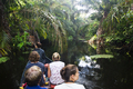 Group of People in a Canoe in a Jungle Canal in Costa Rica - PhotoDune Item for Sale