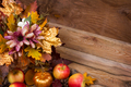 Thanksgiving decor with fall golden leaves - PhotoDune Item for Sale