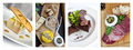 Collage of various deli and cold meat dishes - PhotoDune Item for Sale