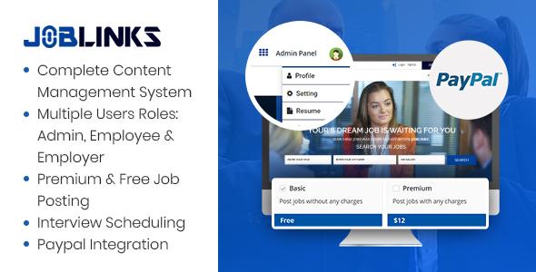 Job Links - Complete Job Management Script
