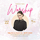 Worship Flyer - GraphicRiver Item for Sale