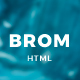 Brom - HTML Creative Page - ThemeForest Item for Sale