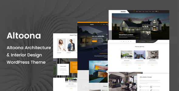 Altoona - Architecture WordPress Theme