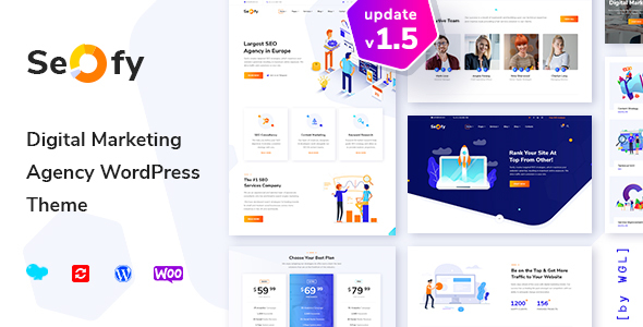 Seofy - Digital & Marketing WordPress Theme