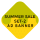 HTML Ad Banners - Summer Sale Set 2 - CodeCanyon Item for Sale
