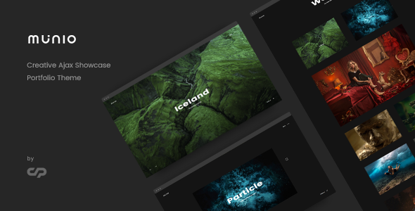 Munio - Creative Portfolio Theme