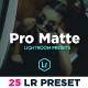 Pro Matte Portrait Lighroom Presets - GraphicRiver Item for Sale