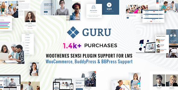 Guru | Sensei, LMS WordPress