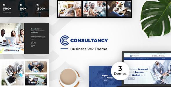 Consultancy Business, Finance WordPress Theme