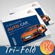 Auto Car Square Trifold Brochure - GraphicRiver Item for Sale