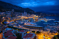 View of Monaco in the night - PhotoDune Item for Sale