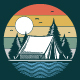 Camping Scenery - GraphicRiver Item for Sale