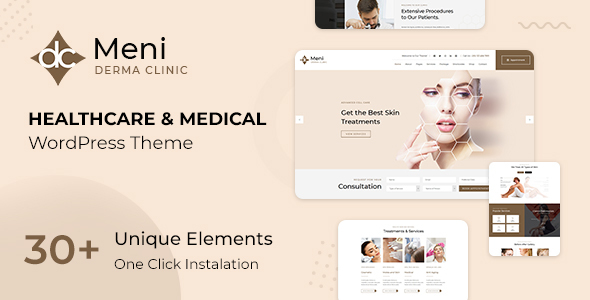 Meni - Healthcare Medical Doctor WordPress Theme