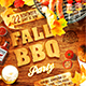 Fall Cookout Party Poster - GraphicRiver Item for Sale