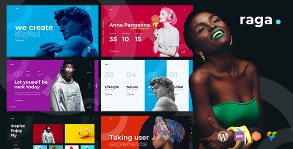 Raga - Creative MultiPurpose WordPress