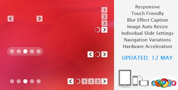 Banner Rotator JavaScript & jQuery Sliders from CodeCanyon