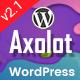 Axolot - IT Solutions & Startup Company WP Theme