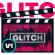 Minimal Glitch Youtube Intro - For Event Promo / Sport Opener / Showreel / Portfolio Slideshow