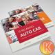 Car Square Trifold Brochure - GraphicRiver Item for Sale
