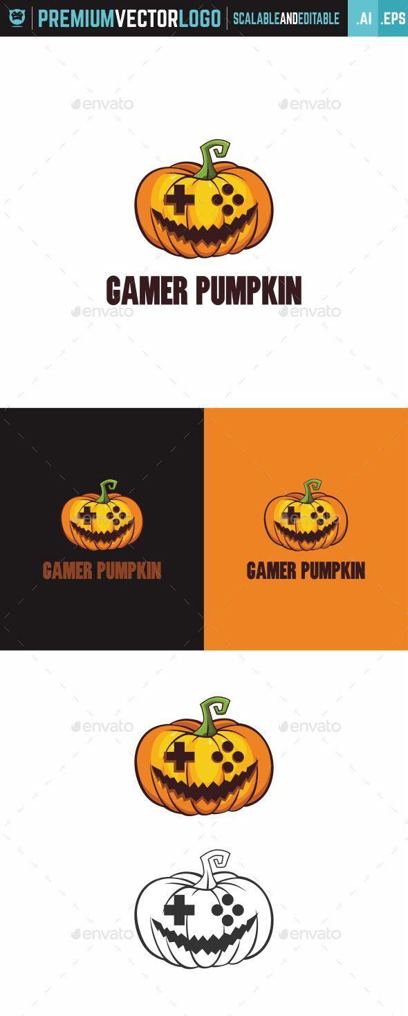 Gamer Pumpkin Logo