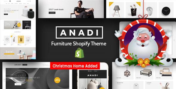 Furniture Store Shopify Theme - Anadi