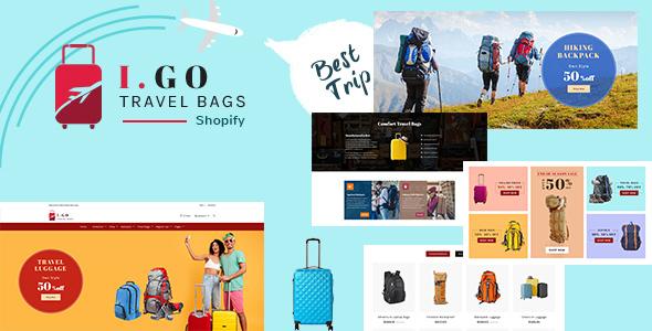 Igo | Fashion Bag Shop Shopify Theme