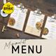 Minimalist Menu - GraphicRiver Item for Sale