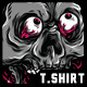 Birthday Skull T-Shirt Design - GraphicRiver Item for Sale