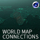World Map Connections - VideoHive Item for Sale