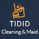 Tidid – Cleaning and Maid Services Responsive Website - ThemeForest Item for Sale