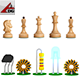 Virtual chess - 3DOcean Item for Sale
