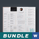 Bundle Cv/Resume - GraphicRiver Item for Sale