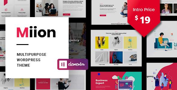 Miion   Multi-Purpose WordPress Theme