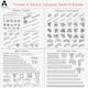 Trusses Square Triangular Beam Bundle Collection - 129 PCS Modular - 3DOcean Item for Sale