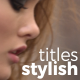 Stylish Titles   Premiere Pro - VideoHive Item for Sale