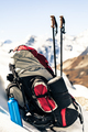 Hiking and camping equipment in mountains - PhotoDune Item for Sale