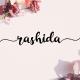 Rashida Script - GraphicRiver Item for Sale