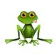 Stock Illustration Sitting Frog - GraphicRiver Item for Sale