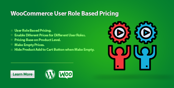 WooCommerce User Role Based Pricing