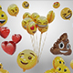 Emoji Balloons Pack - 3DOcean Item for Sale