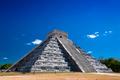 Chichen Itza under blue sky - PhotoDune Item for Sale