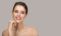 Portrait Of Young Woman. Perfect Clean Skin And Beautiful Smile. - PhotoDune Item for Sale