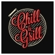 Chill and Grill Lettering - GraphicRiver Item for Sale